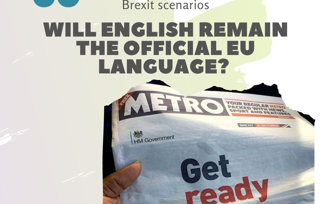 What will be the official EU language after Brexit?